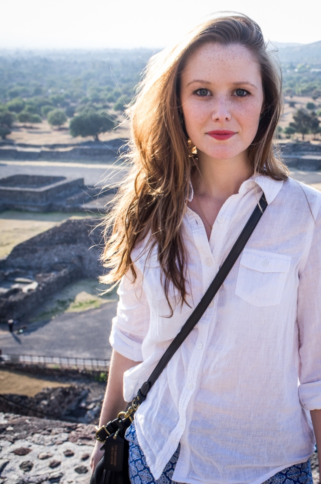 Pyramid of the Sun - Jackietara blog #fashion #travel