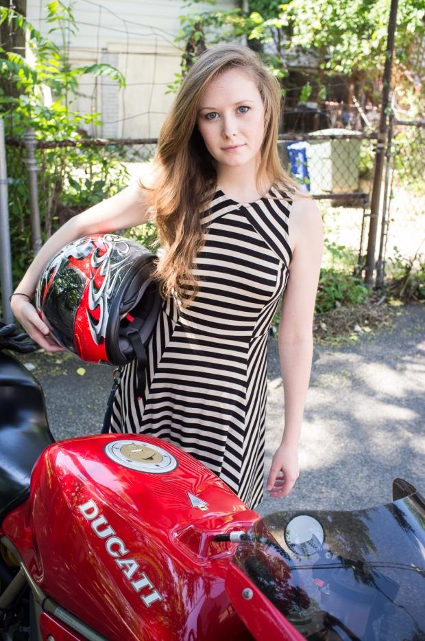 Motorcycle Chic - Jackietara blog