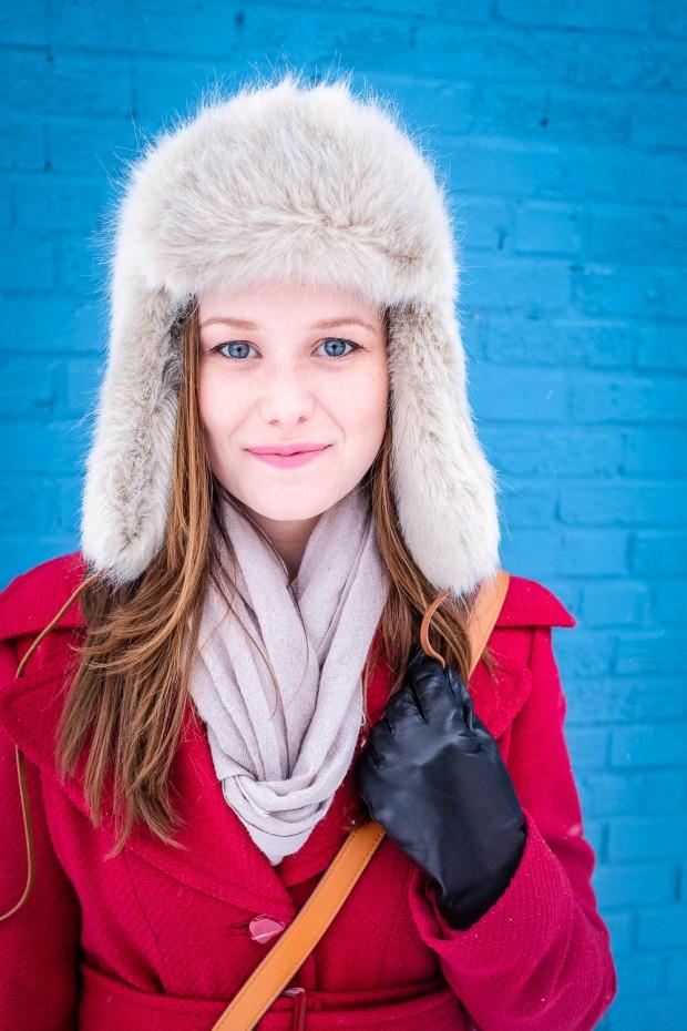 Jackietara blog - Fuzzy Hat