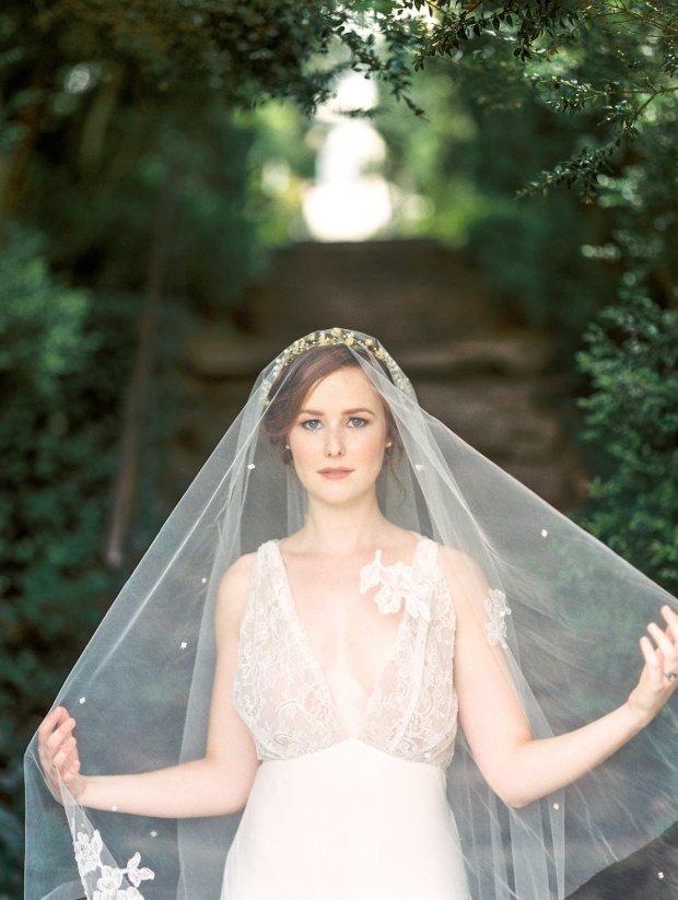 Jackie Tara Blog - Vintage Garden Bridal Inspiration | Photo by Lissa Ryan Photography