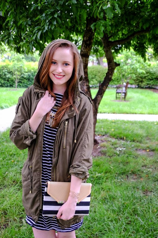 Jackie Tara Blog - Rainy Day Stripes